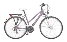 Cross Arena velo trekking Femme lady violet